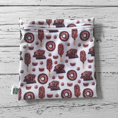 Reusable Sandwich Bag - Chocolate