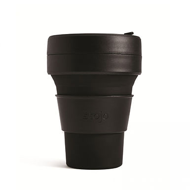 Foldable Pocket Mug 355 mL - Black