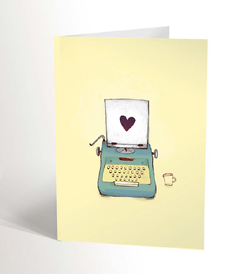 The Typewriter Card