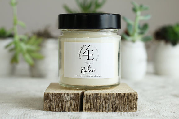 Unscented Candle - Nature