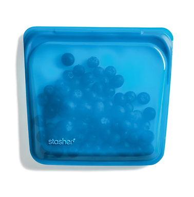 Vacuum bag STASHER - Blueberry (Medium)
