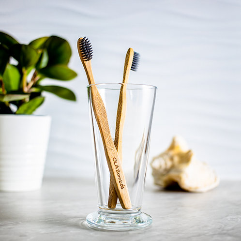 Bamboo Charcoal Toothbrush - Adult (Pack of 2)