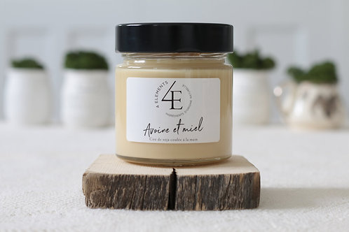 Scented Candle - Oat & Honey