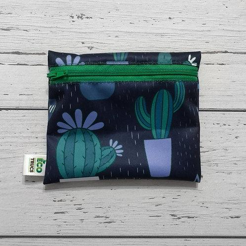 Reusable Mini Snack Bag - Cactus