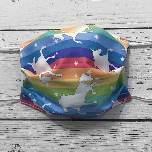 Reusable Face Mask - Unicorn (Children)