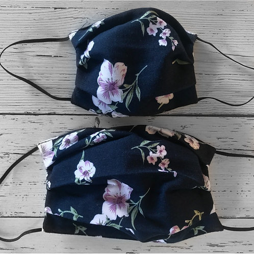 Duo of Reusable Masks - The Pretty One (Adult & Children)