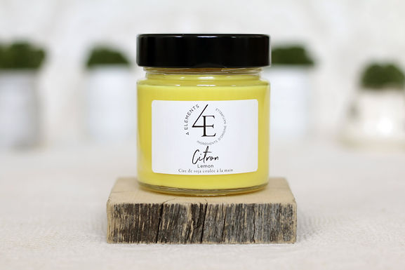 Scented Candle - Lemon