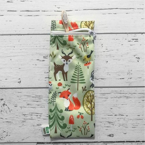 Utensil/Toothbrush Bag -  Forest (Small)