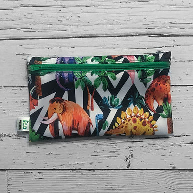 Reusable Snack Bag - Prehistoric