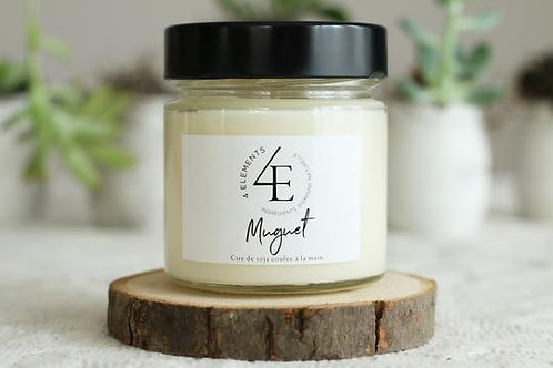 Scented Candle - Lily-of-the-Valley