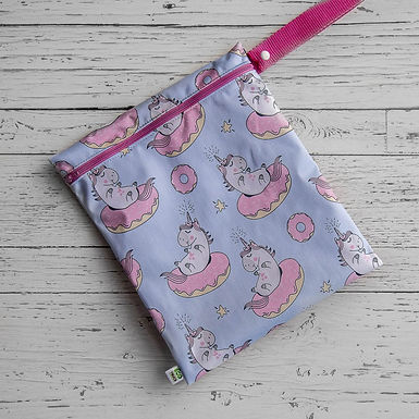 Waterproof Carrying Bag With Handle - Unicorn & Donut