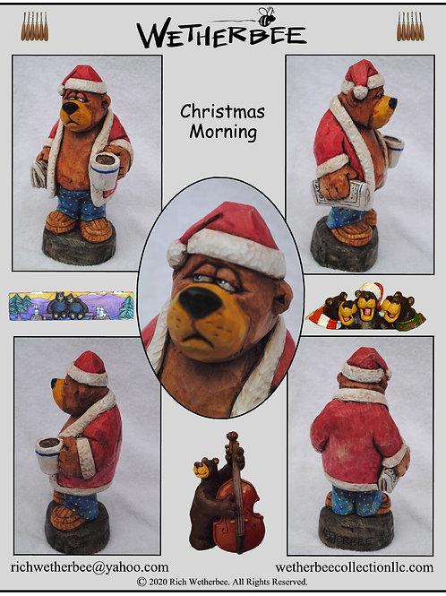 Christmas Morning Bear