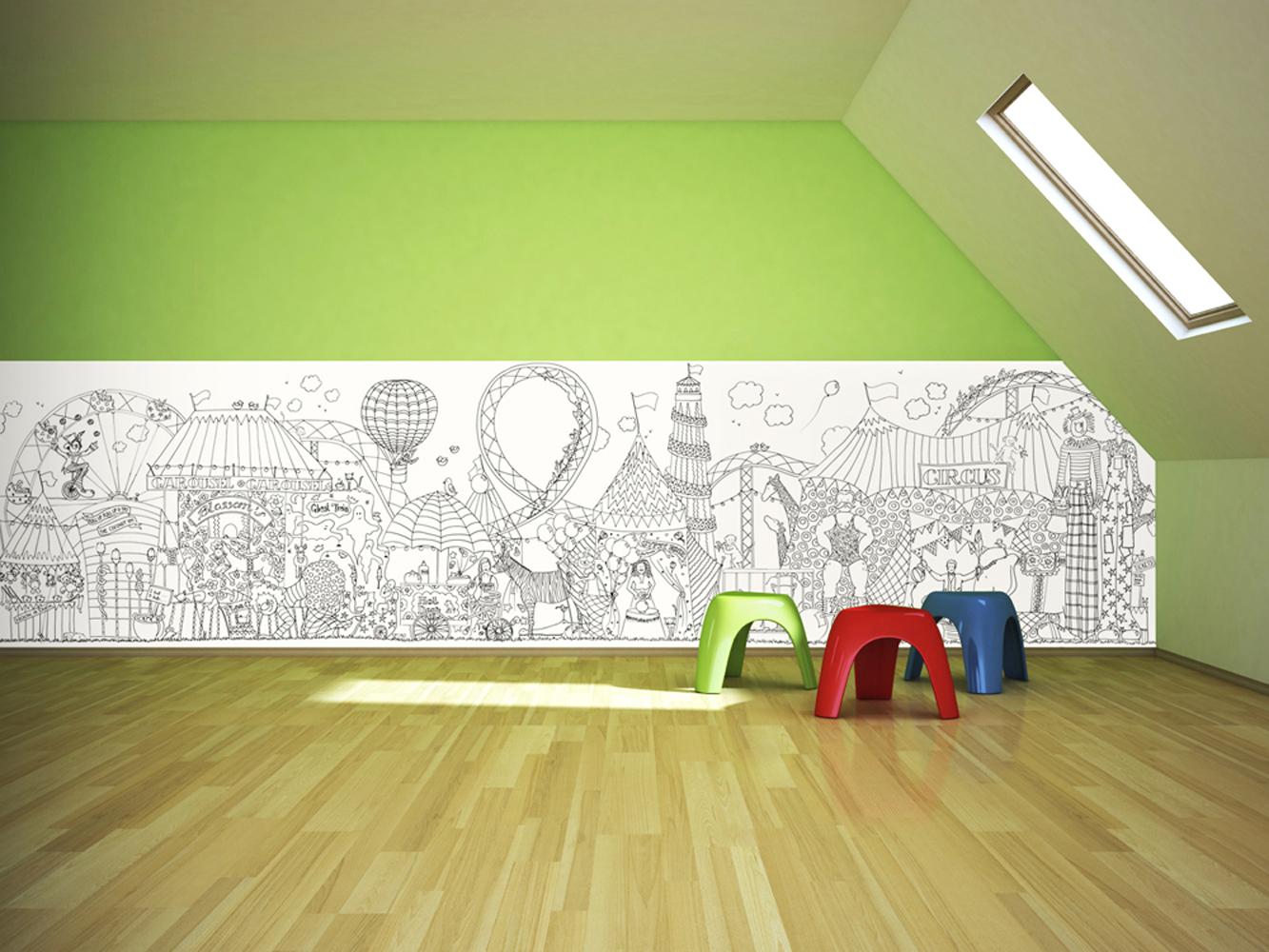 Colour in Wallpaper