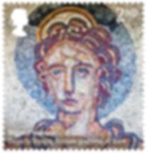 Roman Britain Bignor Mosaic 400% stamp.j