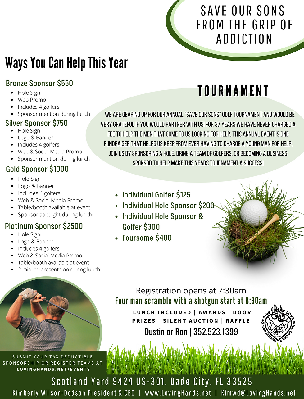 Copy of Copy of Dade City Golf Flyer 202