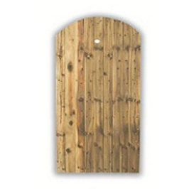 1750 x 915mm Arch Top Feather Edge Gate
