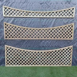 300/150/300 x 1828mm Diamond Trellis Concave Top