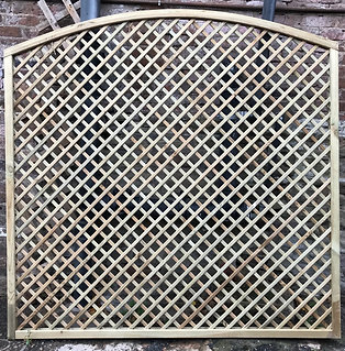 1500/1800/1500 x 1828mm Diamond Trellis Lincoln Convex