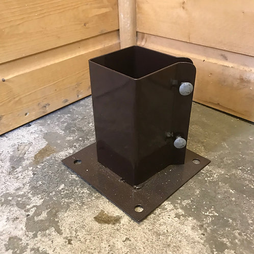 Fence Post Bolt-Downs 75/100mm
