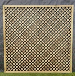 1828 x 1828mm Diamond Trellis