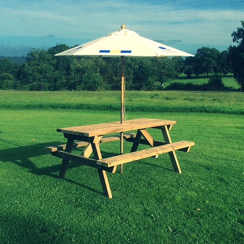6ft Rectangular Picnic Table