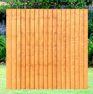 Feather Edge Panels 2-6ft