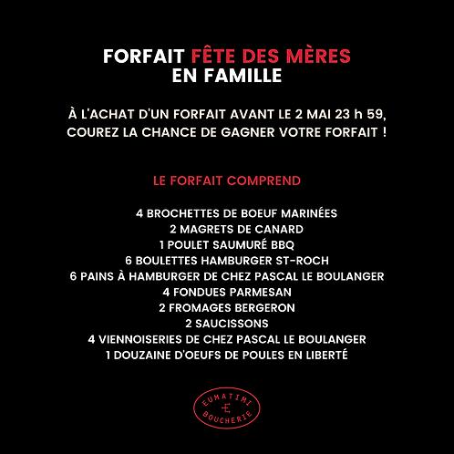 FORFAIT FÊTE DES MÈRES | EN FAMILLE