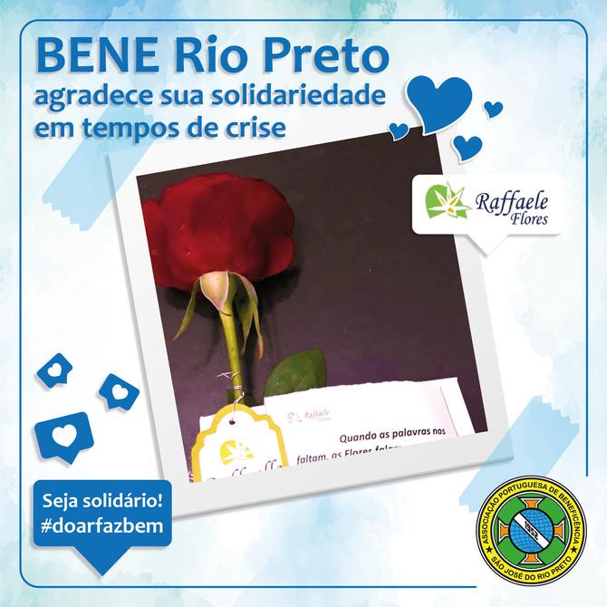 Bene Rio Preto agradece solidariedade em tempos de crise