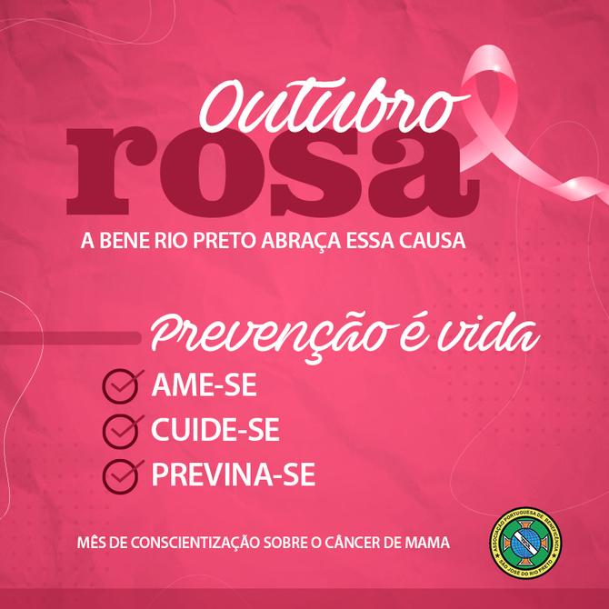 Outubro Rosa na Bene Rio Preto