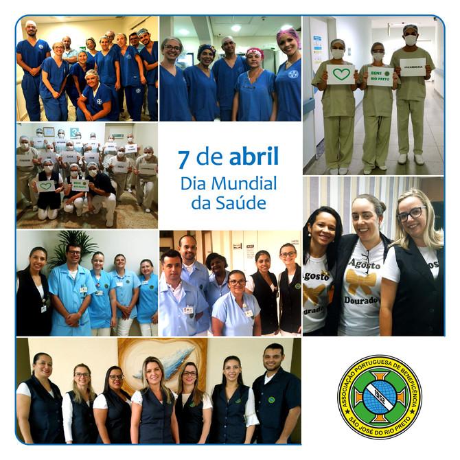 Bene Rio Preto presta homenagem a profissionais no Dia Mundial da Saúde