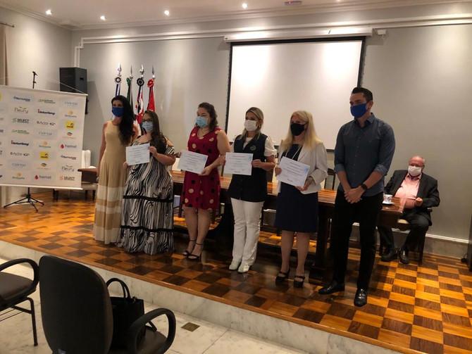 Acirp homenageia profissionais da Bene Rio Preto