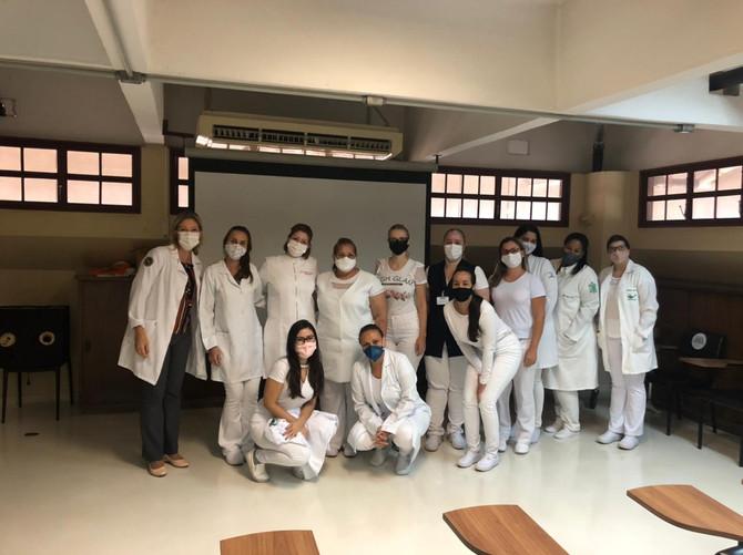 Iniciamos os cursos de Aprimoramento em Enfermagem e Farmácia
