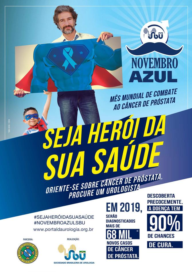 Bene Rio Preto apoia Novembro Azul e chama a atenção para o cuidado do homem com a próstata e a saúd