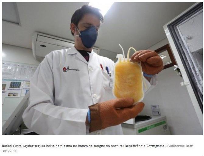Bene Rio Preto na mídia: hospital coleta plasma para tratamento de Covid-19