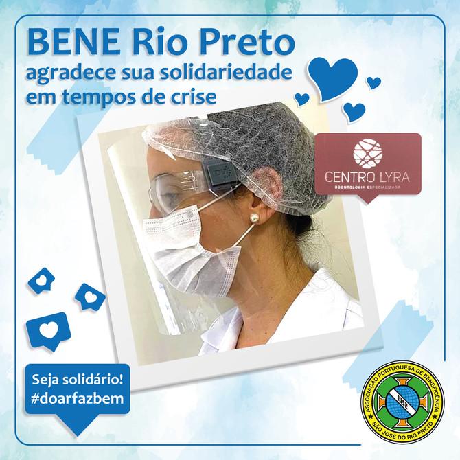 Bene Rio Preto agradece aoCentro Lyra Odontologia Especializada
