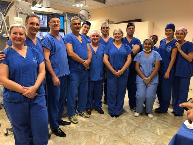 TAVI realizada na BP é transmitida para cirurgiões em congresso nos EUA