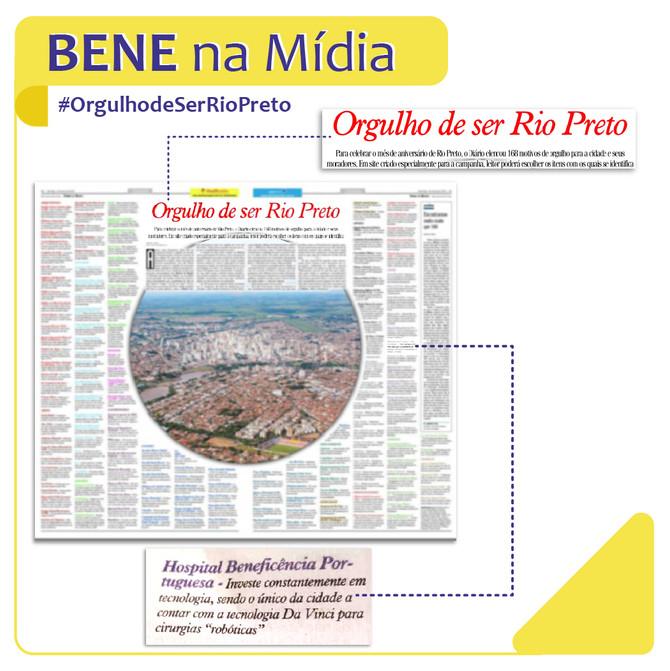 Bene Rio Preto: orgulho de ser Rio Preto