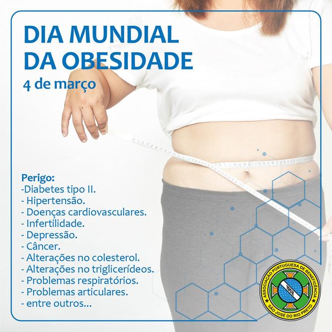 Dia Mundial da Obesidade: um problema preocupante em saúde pública