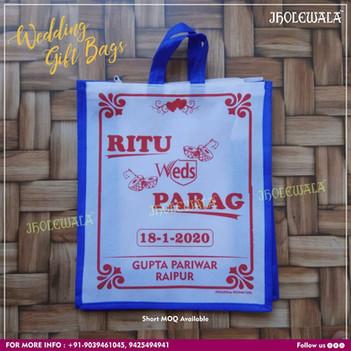 The Non Woven Wedding Gift Bag