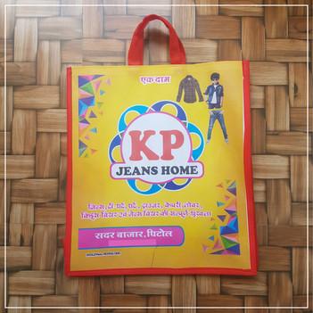 Laminated Non Woven Box Bag