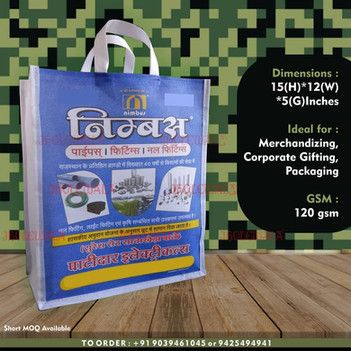 Laminated Non Woven Promotional Bag