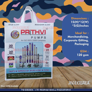 Laminated Non Woven Stitched Bags