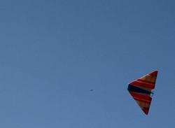 טיסן כנף מעופפת פוגי בשמיים