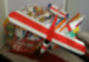 טיסן על שלט באירוע מפגן הטסת טיסנים