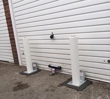 garage security posts
