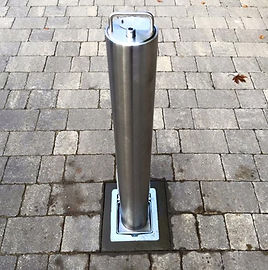 rd4 stainless steel telescopic post