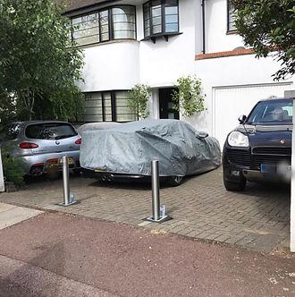 driveway securiy posts