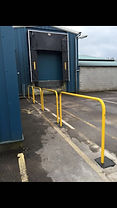This is an example of static hoops or barriers