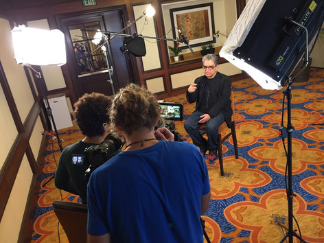 BEHIND THE SCENES WITH DEEPAK CHOPRA