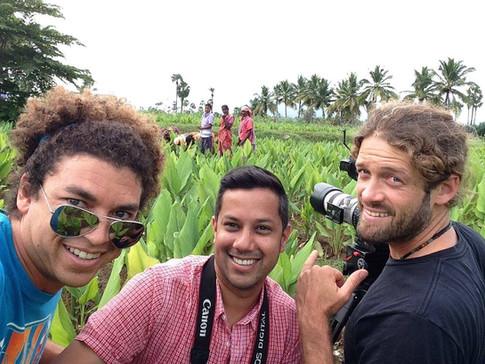 SHOOTING IN INDIA WITH AMISH SHAH